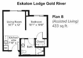 floor plans eskaton lodge gold river assisted living eskaton