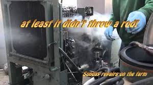 2 71 detroit diesel blower repair youtube