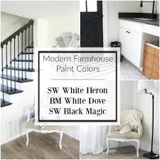 choosing modern farmhouse paint colors