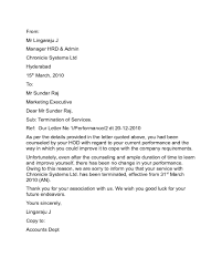 2017 termination letter templates fillable printable pdf