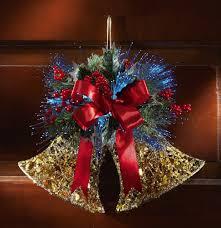 amazon com fiber optic jingle bells holiday wall decor home