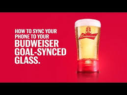 bud light touchdown glass app setting up your goal synced glass 2017 youtube