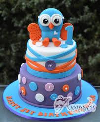 two tier hoot cake ac153 amarantos cakes
