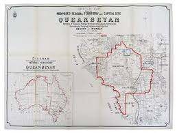 file sketch map showing proposed federal territory and capital