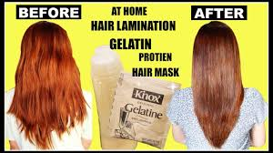 using gelatin for your hairstyles for women over 50 diy hair lamination using gelatin for dry damaged hair split