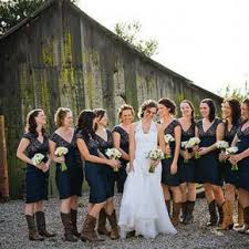 bridesmaid dresses with cowboy boots country wedding dresses with cowboy boots concepts country