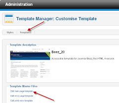 edit html template working with joomla 1 5 templates and joomla 2 5 templates are