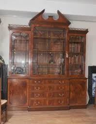 victorian bookcase antique dining room