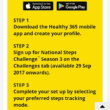 Challenge Steps National Steps Challenge Season 3 With Free Steps Trackers