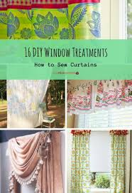 16 diy window treatments how to sew curtains allfreesewing com