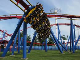 Six Flags Usa Maryland Superman Ultimate Flight Roller Coasters Pinterest Roller