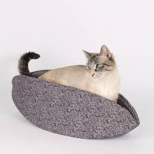 purple paisley cat canoe cat bed cat connection