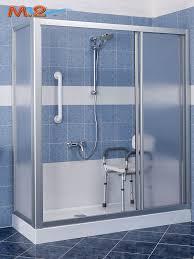 trasformare una doccia in vasca da bagno trasformare la vasca in una doccia per anziani e disabili