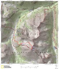 Colorado 14er Map by Huron Peak Denverdavis