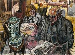Kitchen Sink Realism - a carlisle city councillor with jean and david bratby 1955 john