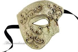 amazon com venetian half face mask masquerade mardi gras u0027phantom