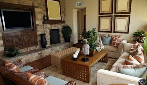 Living Room Tv by Decorative Living Room Ideas With Brick Fireplace And Tv