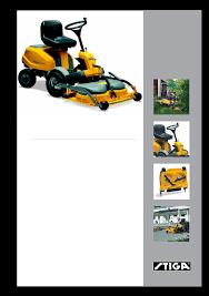 user manual for stiga villa 14 hst a user manual servicing