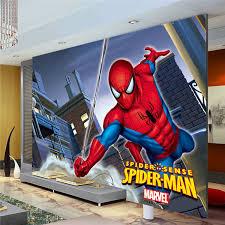 marvel bedroom awesome boys room kids bedroom marvel spiderman kids boys children photo wallpaper custom super
