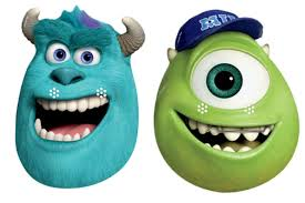 official sulley mike monsters university card party face