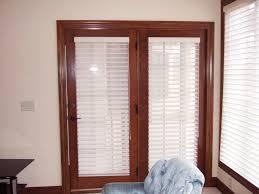 french door window blinds window treatments design ideas