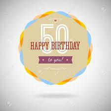 fiftieth anniversary congratulatory badge for the fiftieth anniversary 50 years happy