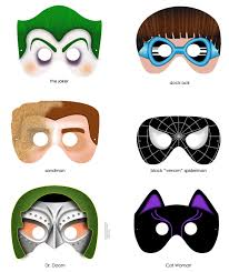 Halloween Paper Masks Printable by A Collection Of Printable Halloween Masks U2013 Pinlavie Com
