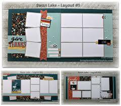scrapbooking kits update swan lake 6 page scrapbook kit 23 2