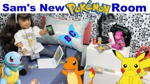 sam u0027s new pokemon bedroom doll house american mini dolls