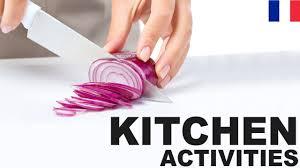 apprendre cuisine apprendre le vocabulaire anglais les activités à la cuisine