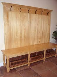Entryway Bench And Storage Shelf With Hooks Entryway Bench And Shelf Browse Benches Entryway Bench Plans Free
