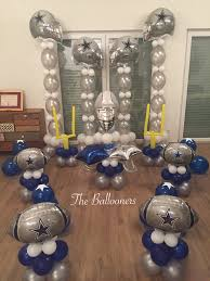 Dallas Cowboys Drapes by Balloons Dallas Cowboys Theme Balloons By Simeon Pinterest