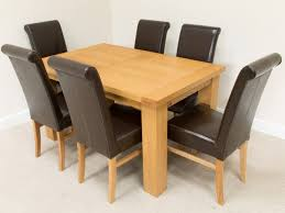 Leather Dining Room Set Chair Gorgeous Dining Room Table Sets Leather Chairs Home Design