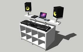 Dj Table Stand Table Wonderful Dj Table Stand The Improvised Dj Production Desk
