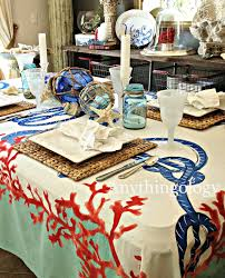 anythingology nautical dinner party