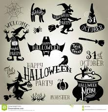 halloween silhouettes stock vector image 59479028