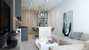Luxury Small Studio Apartment Design Combined Modern And - Luxury apartment design