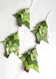 origami christmas tree ornaments easy best images collections hd