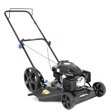 gas push lawn mowers lawn mowers the home depot