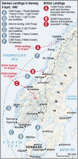 Map Of Concentration Camps In Germany by The Battles Of Narvik U0026 The Norwegian Campaign