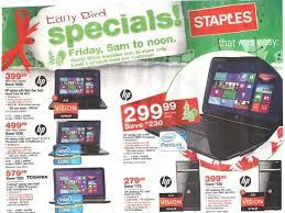 black friday laptop deals online staples black friday 2012 ad leaks laptop desktop tablet pc