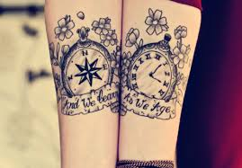 couple tattoo ideas his n hers inked inked pinterest