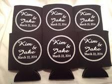 wedding koozie favors personalized koozie ebay