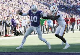 Kansas State Flag Kansas State Pulls Out 20 19 Victory Over Iowa State On
