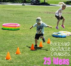 ideas for a backyard obstacle course backyard fun pinterest
