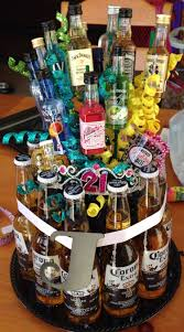 girly version of the beer cake omg i want this exact one for my