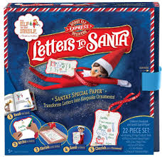 elf on a shelf can now deliver special shrinking letters to santa