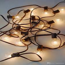 Outdoor Light String by 2017 220v 240v 25ft 7 6m G40 E14 Industrial Lamp Globe Lights