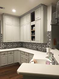 how to make cabinets appear taller kitchen remodel update hi sugarplum