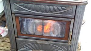gravity fed oil stove youtube